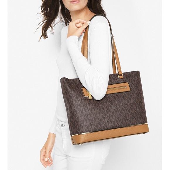 3ecb139d4e94 Michael Kors Bags   Frame Out North South Tote Handbag   Poshmark